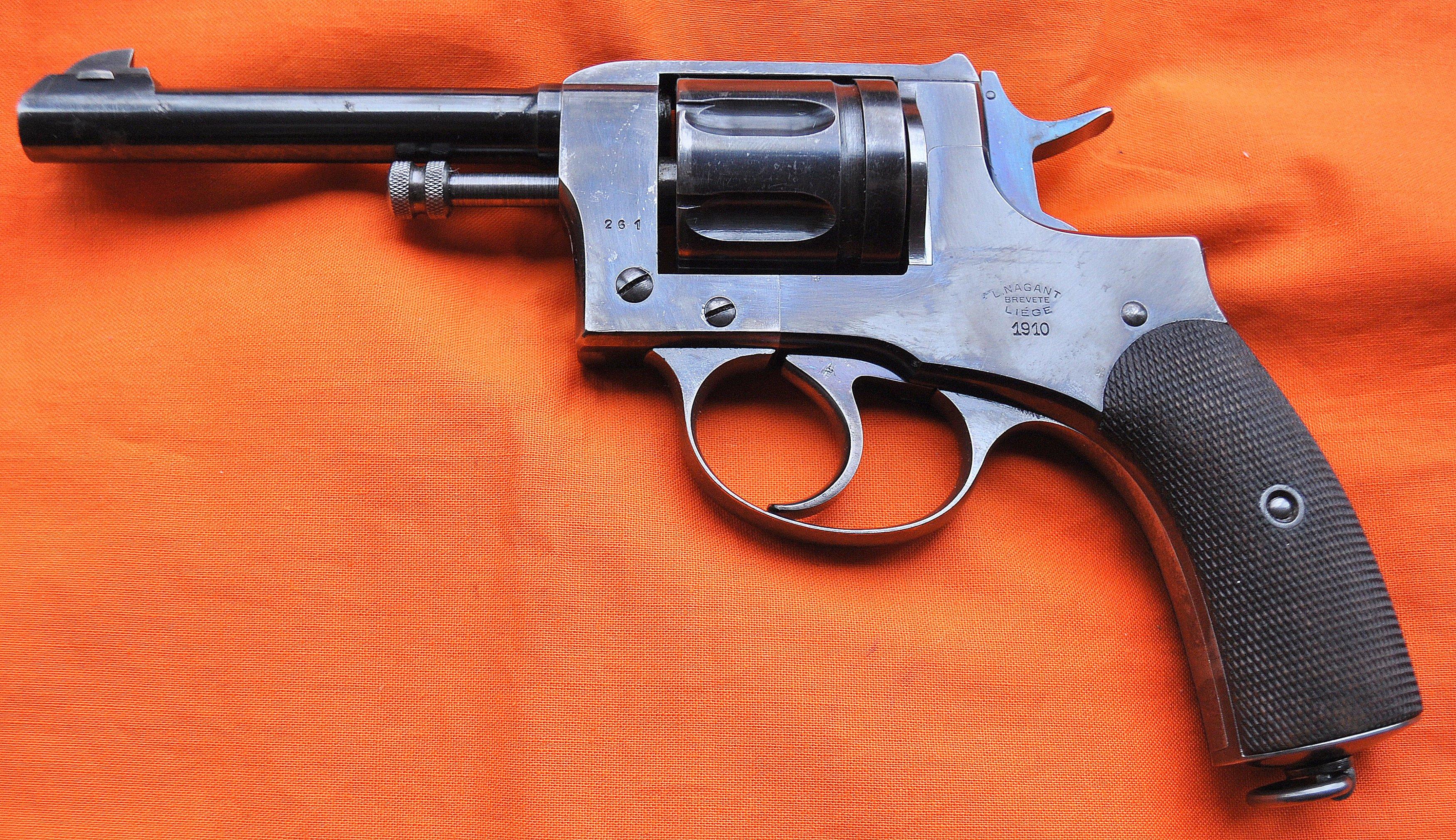 A rare bird- Belgian Nagant M1910 (pics)