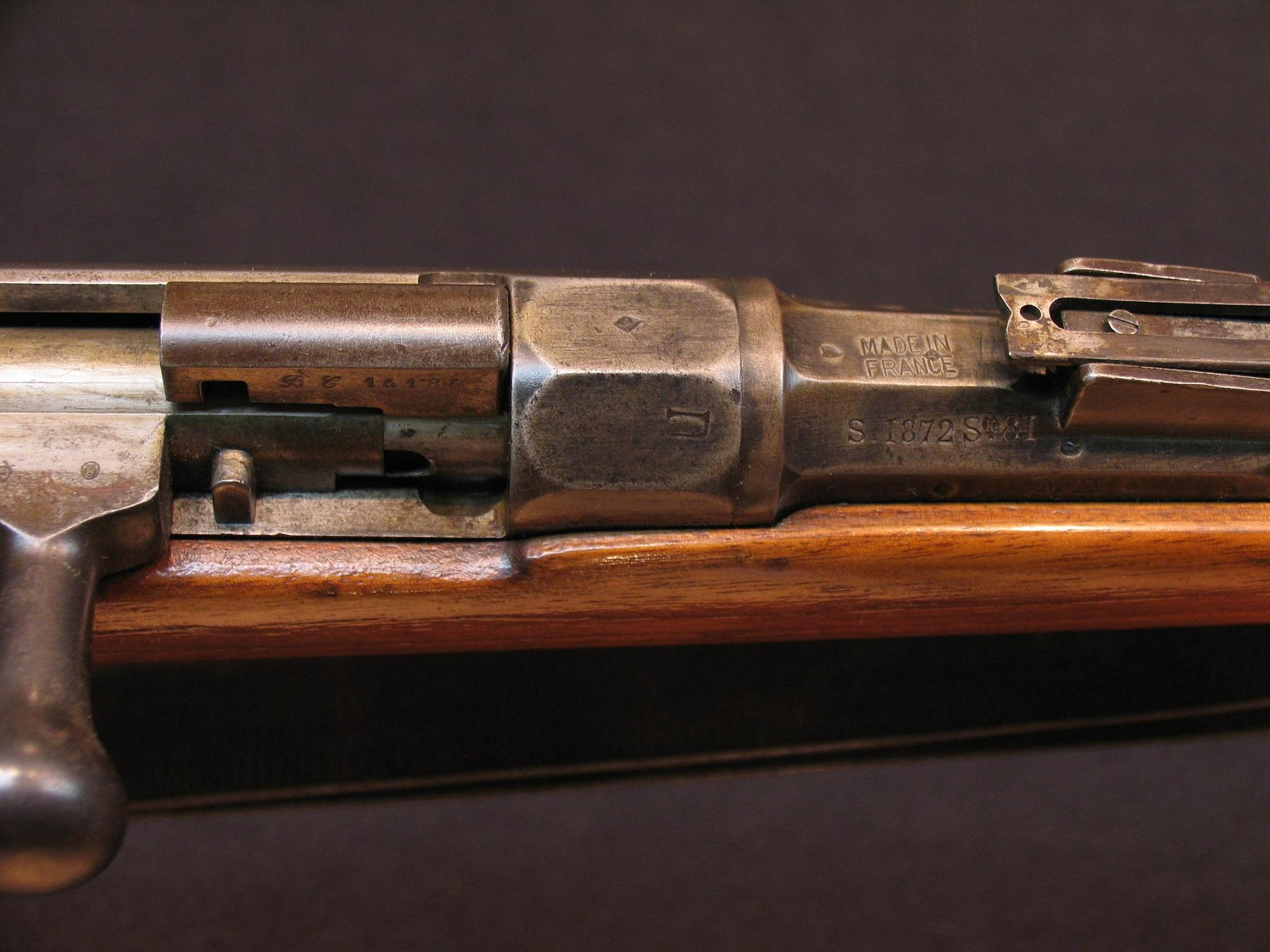 Click image for larger version.  Name:French Mle 1874 Gras Inf Rifle 2 - R.JPG Views:32 Size:298.7 KB ID:570708