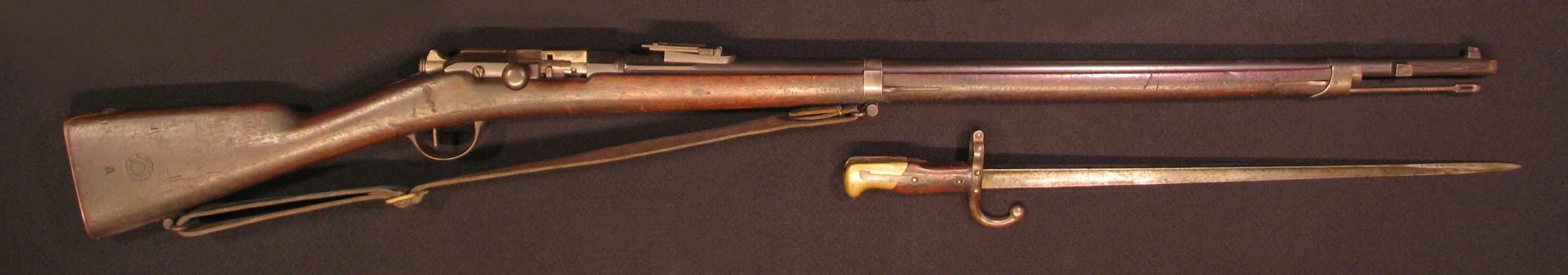 Click image for larger version.  Name:French Mle 1874 Gras Infantry Rifle 01R.JPG Views:30 Size:168.9 KB ID:570706