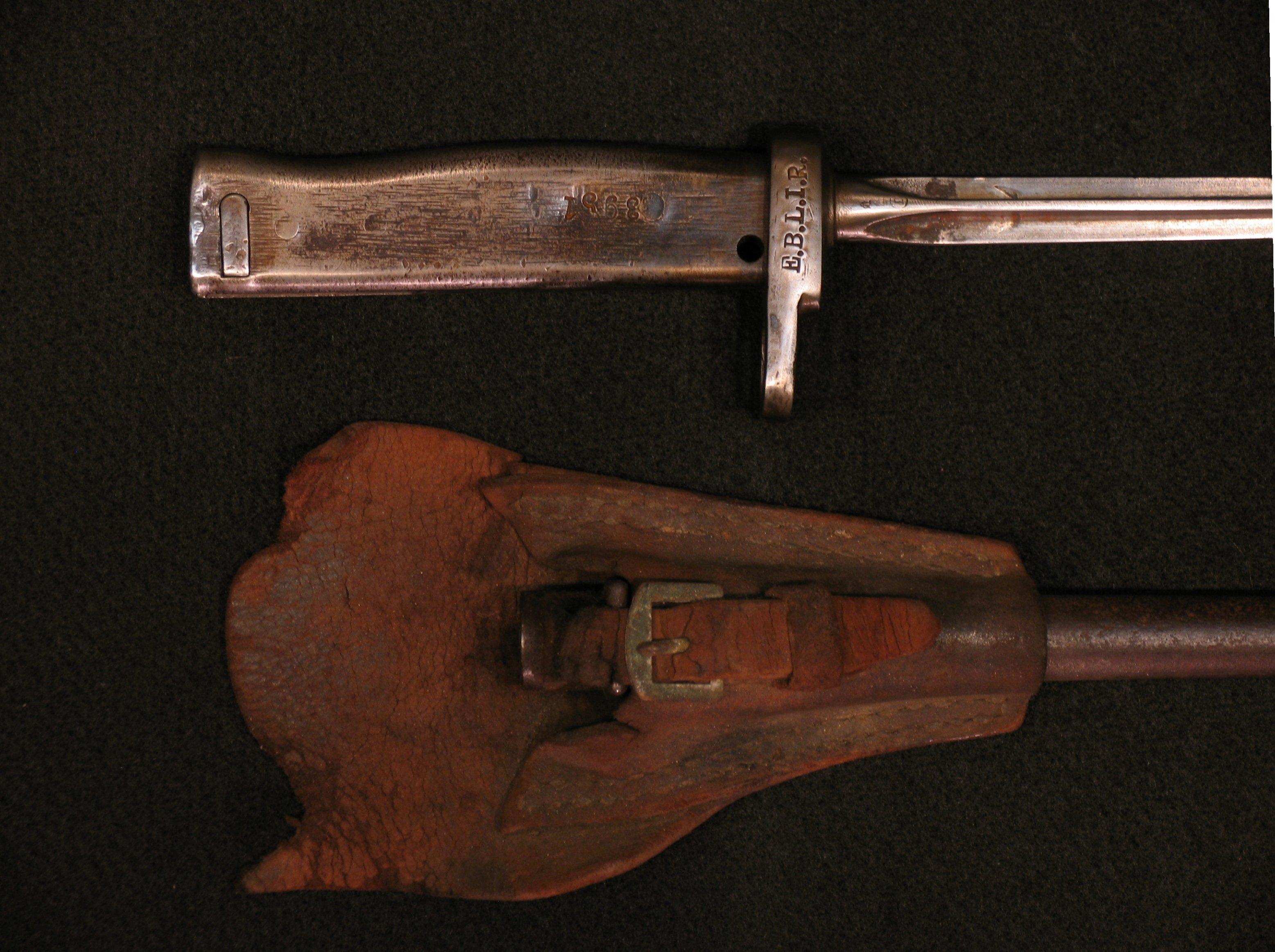 Click image for larger version.  Name:German ersatz Bayonets w Mle 86 Lebel Blade Detail 01.jpg Views:3 Size:822.4 KB ID:3667207
