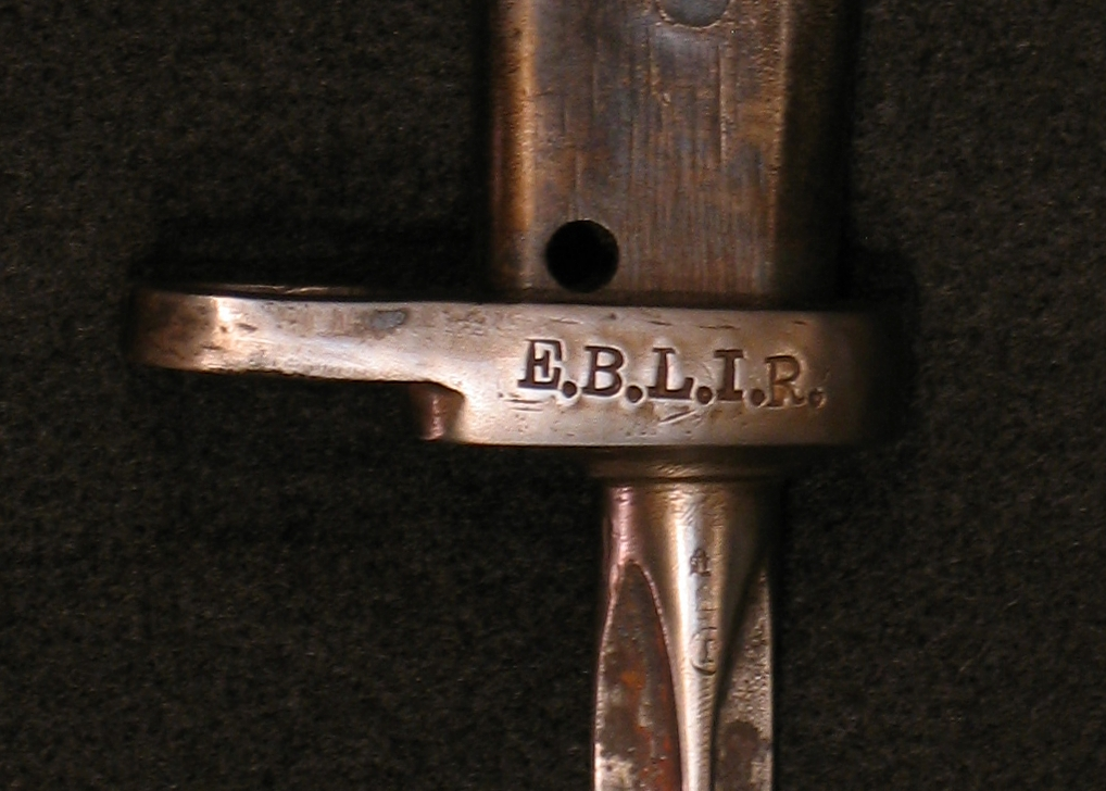 Click image for larger version.  Name:German ersatz Bayonets w Mle 86 Lebel Blade Detail 02.jpg Views:3 Size:446.0 KB ID:3667205