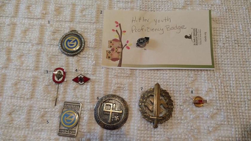 German/Nazi pins