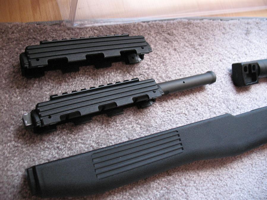WTS - TAPCO Fusion SKS SYN STOCK, Blade Bayonet TAPCO GAS TUBE
