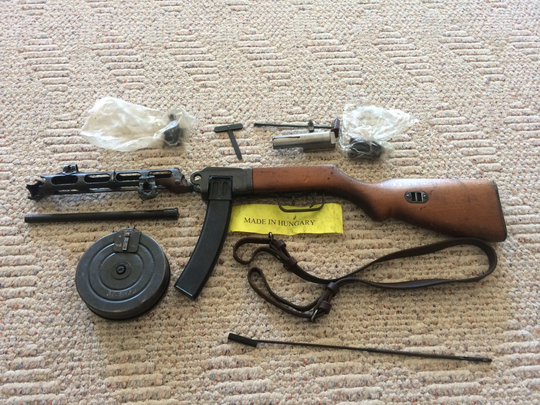 Hungarian PPSH-41 Parts kit and VZ-58 barrel