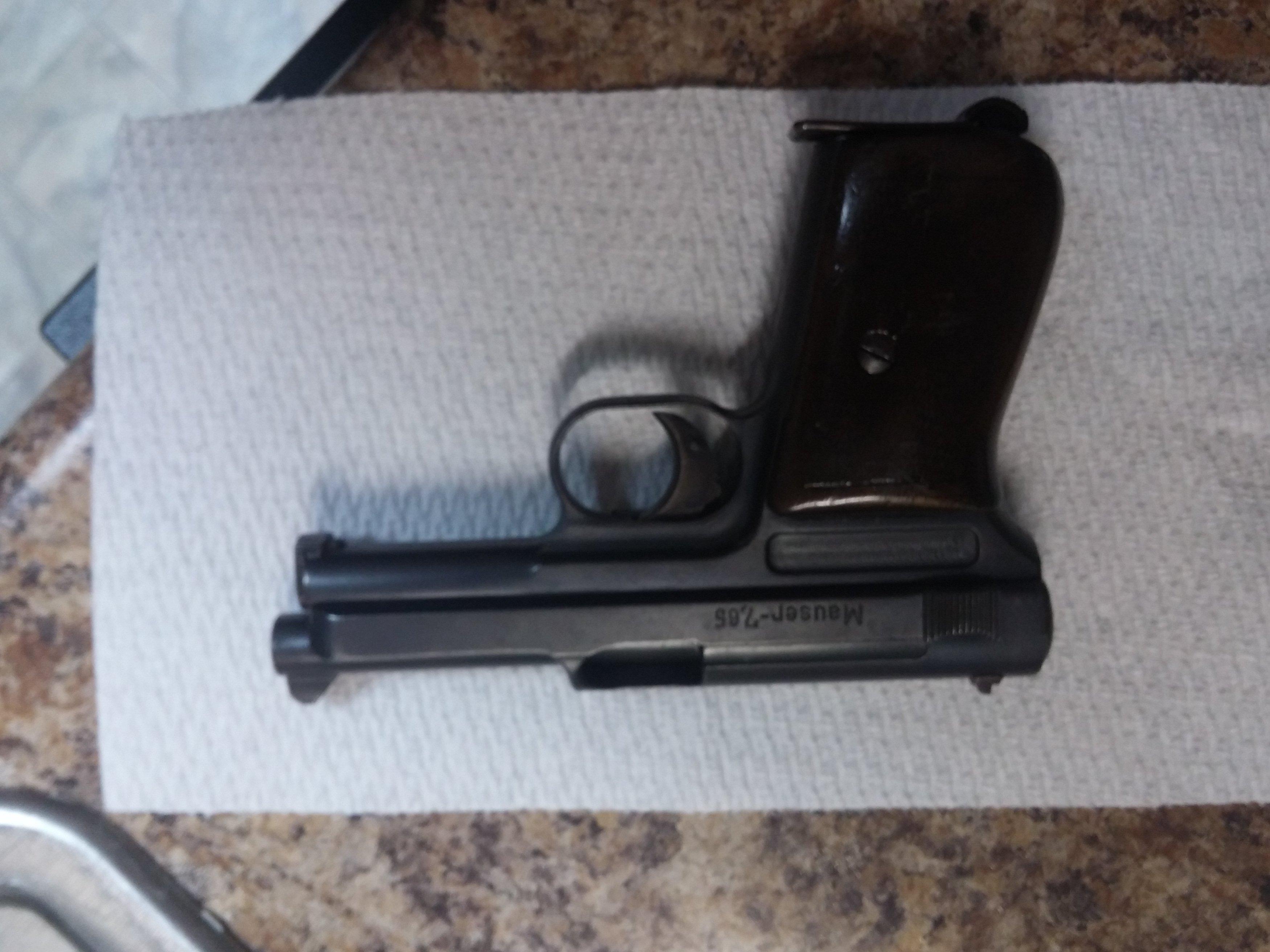 WTS/WTT Mauser 1914 7 65mm/ 32 ACP Nice original pistol