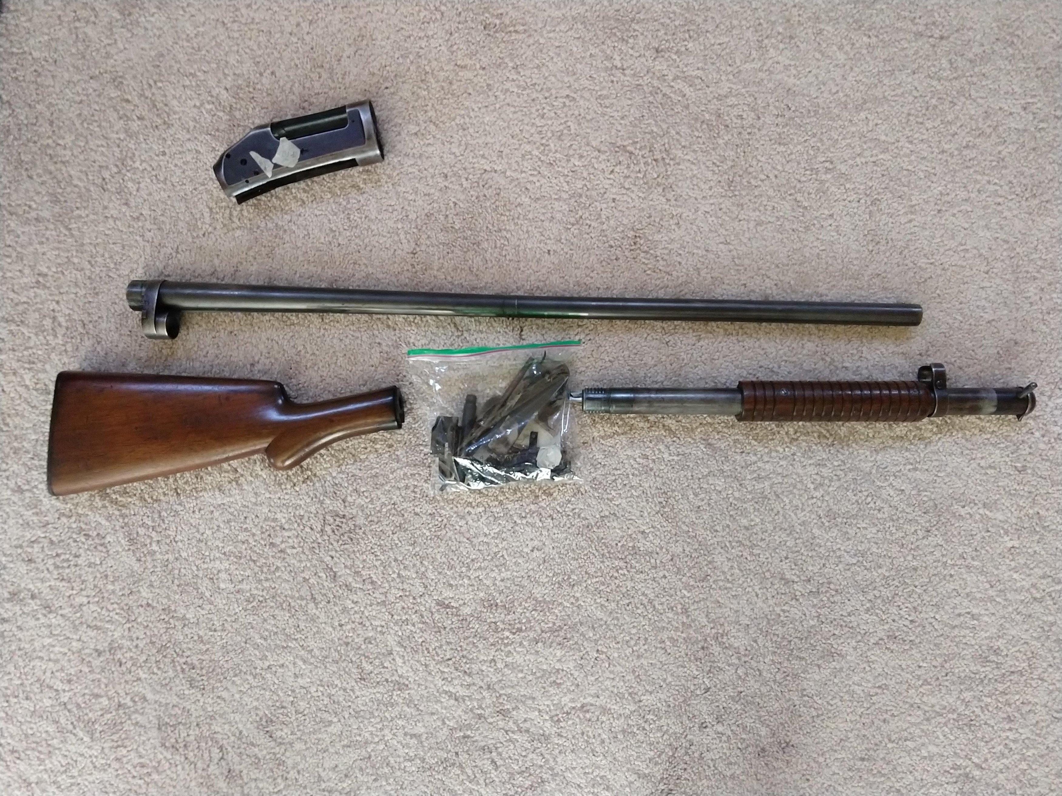 Winchester 1897 Parts kit - less receiver