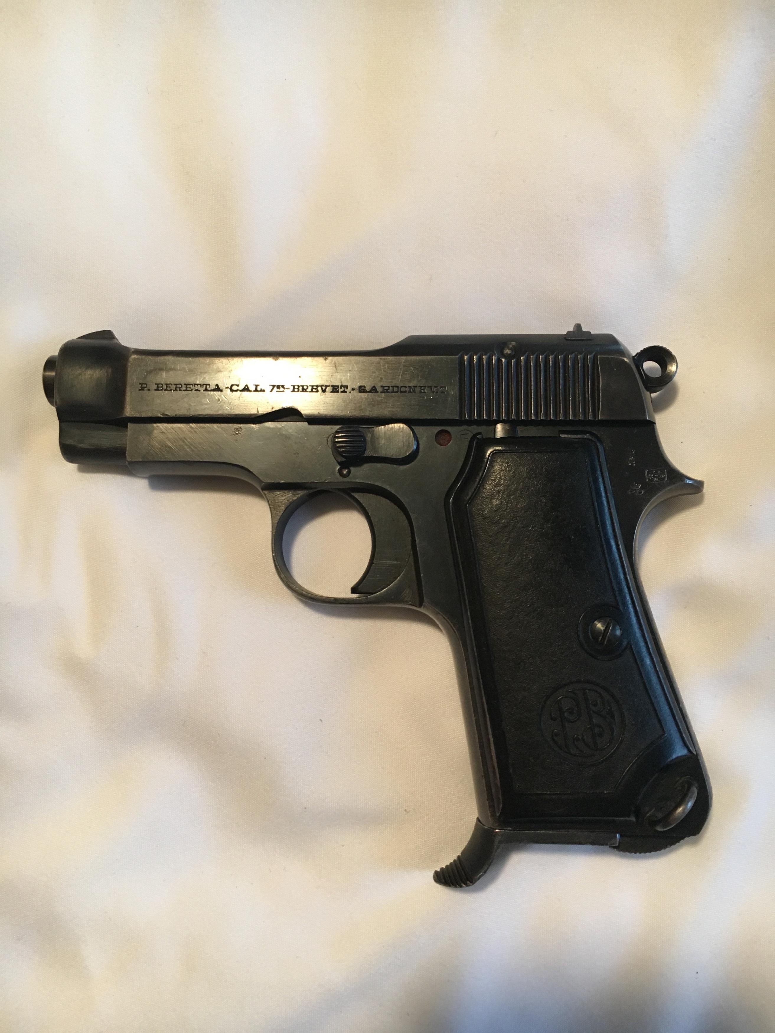 Beretta 1934 Markings?