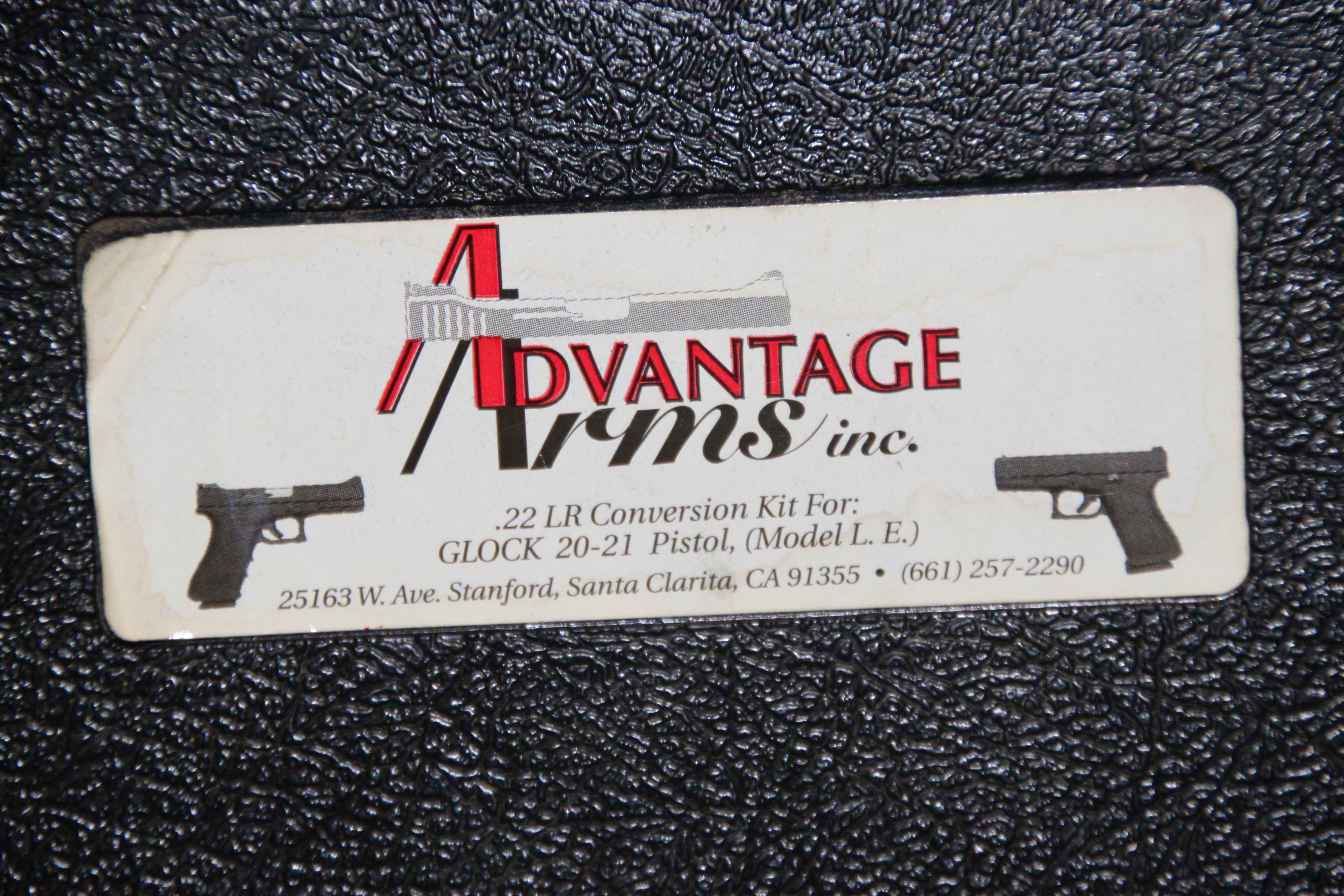 WTS - Advantage Arms Glock 20/21 LE  22LR conversion kit
