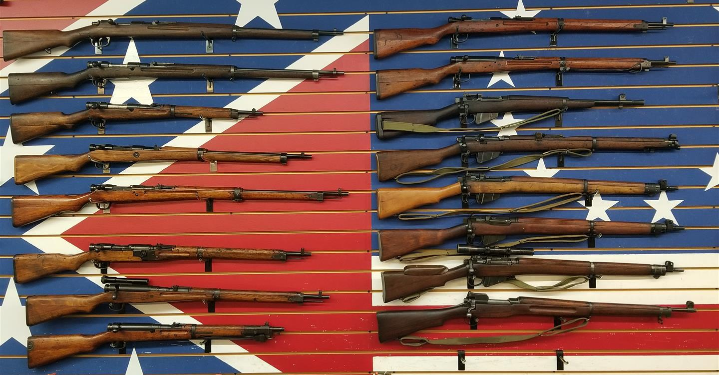 WWII Japanese Rifle Collection