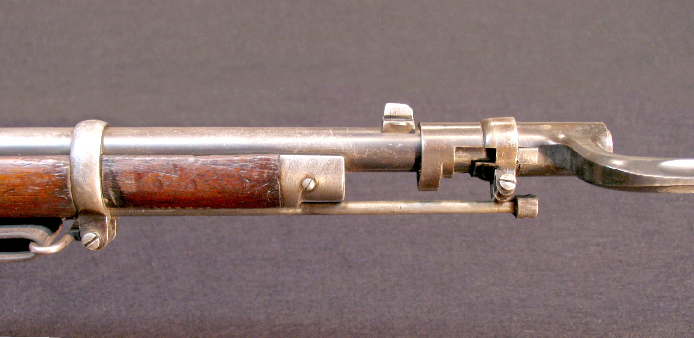 Click image for larger version.  Name:M1870 Berdan II Inf Rifle w M1870 Bayonet 008A.jpg Views:36 Size:309.2 KB ID:1967473
