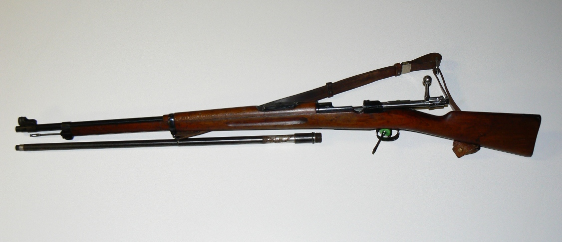 Click image for larger version.  Name:m96 and old barrel.JPG Views:67 Size:191.3 KB ID:359355