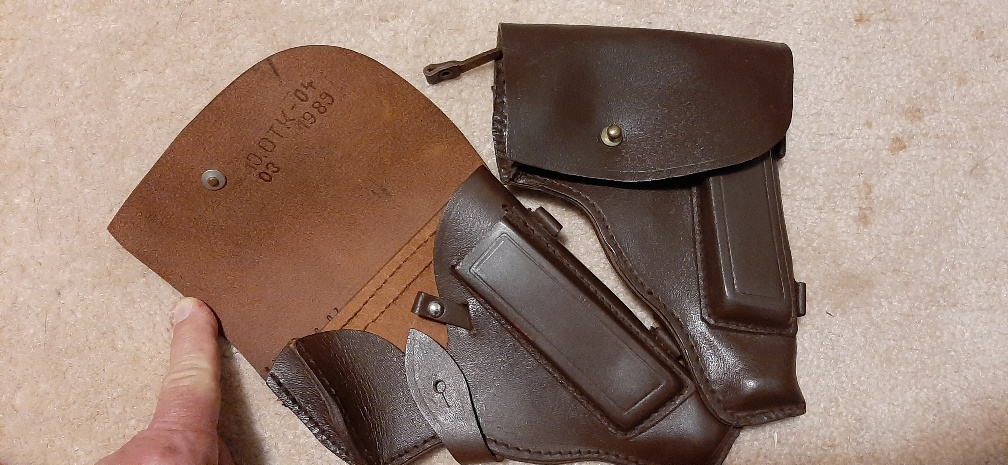 Click image for larger version.  Name:Makarov Holsters, Excellent Cond., unused.jpeg Views:16 Size:222.7 KB ID:3675281