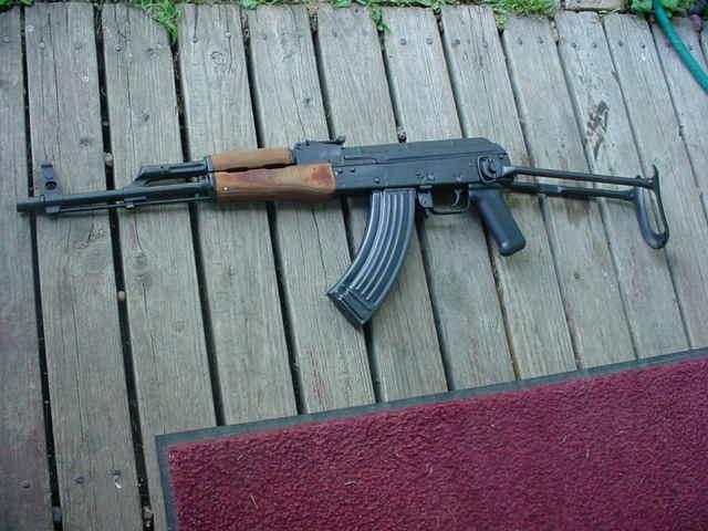 WASR 10 underfolder,good rifle?