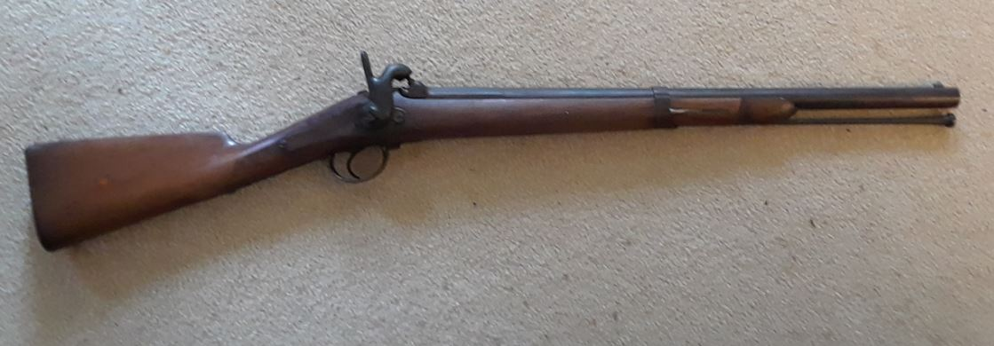French Carbine - Civil War Relic - Please Help ID?