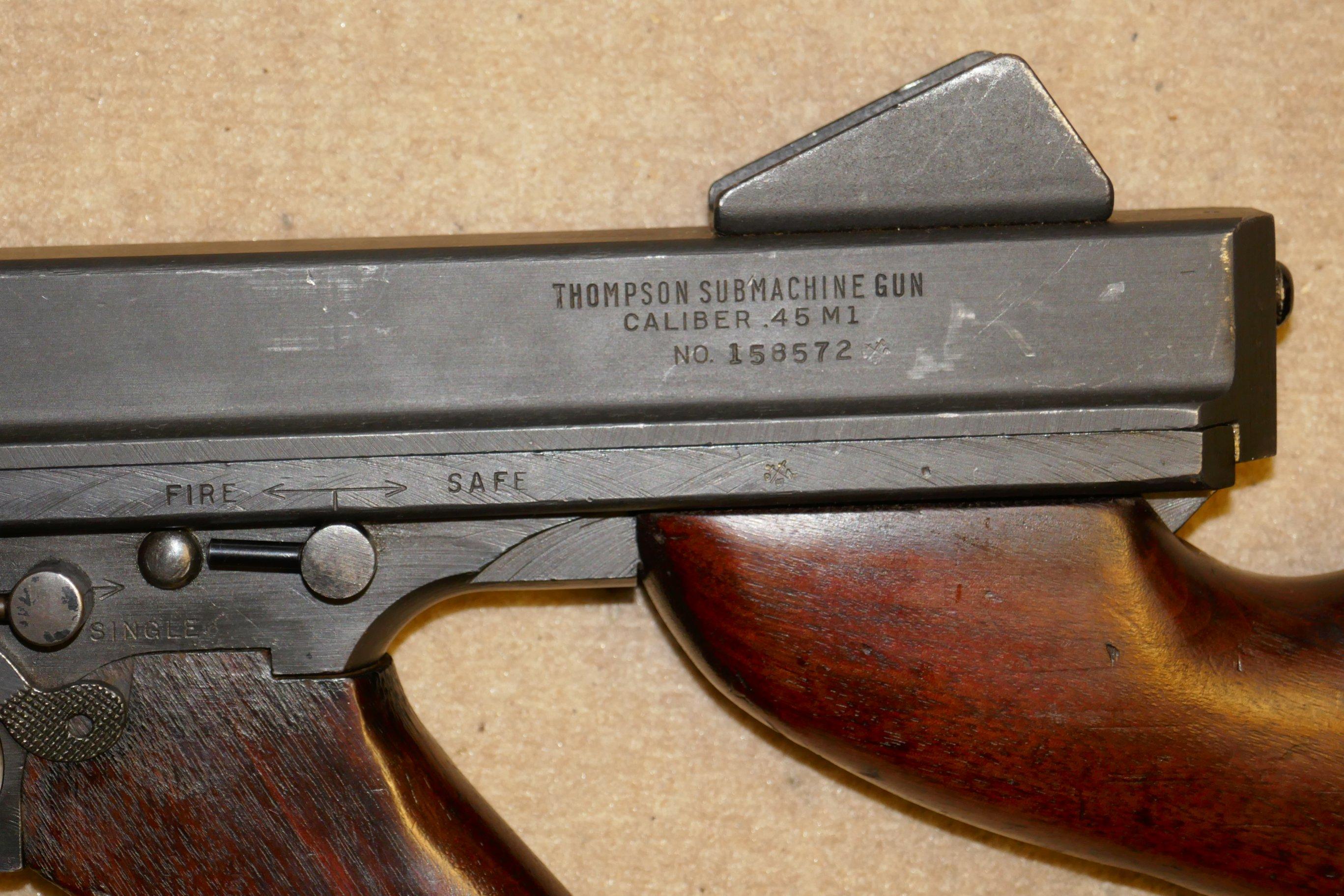Thompson M1A1 help please