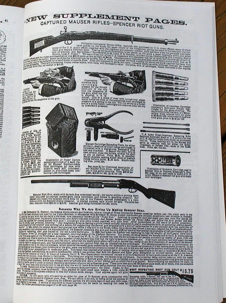 Spanish Model 1893 Mauser