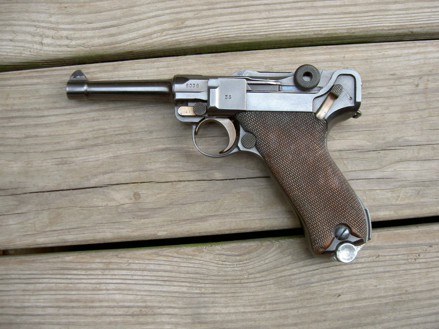 Value of 1939 re-blued Luger?