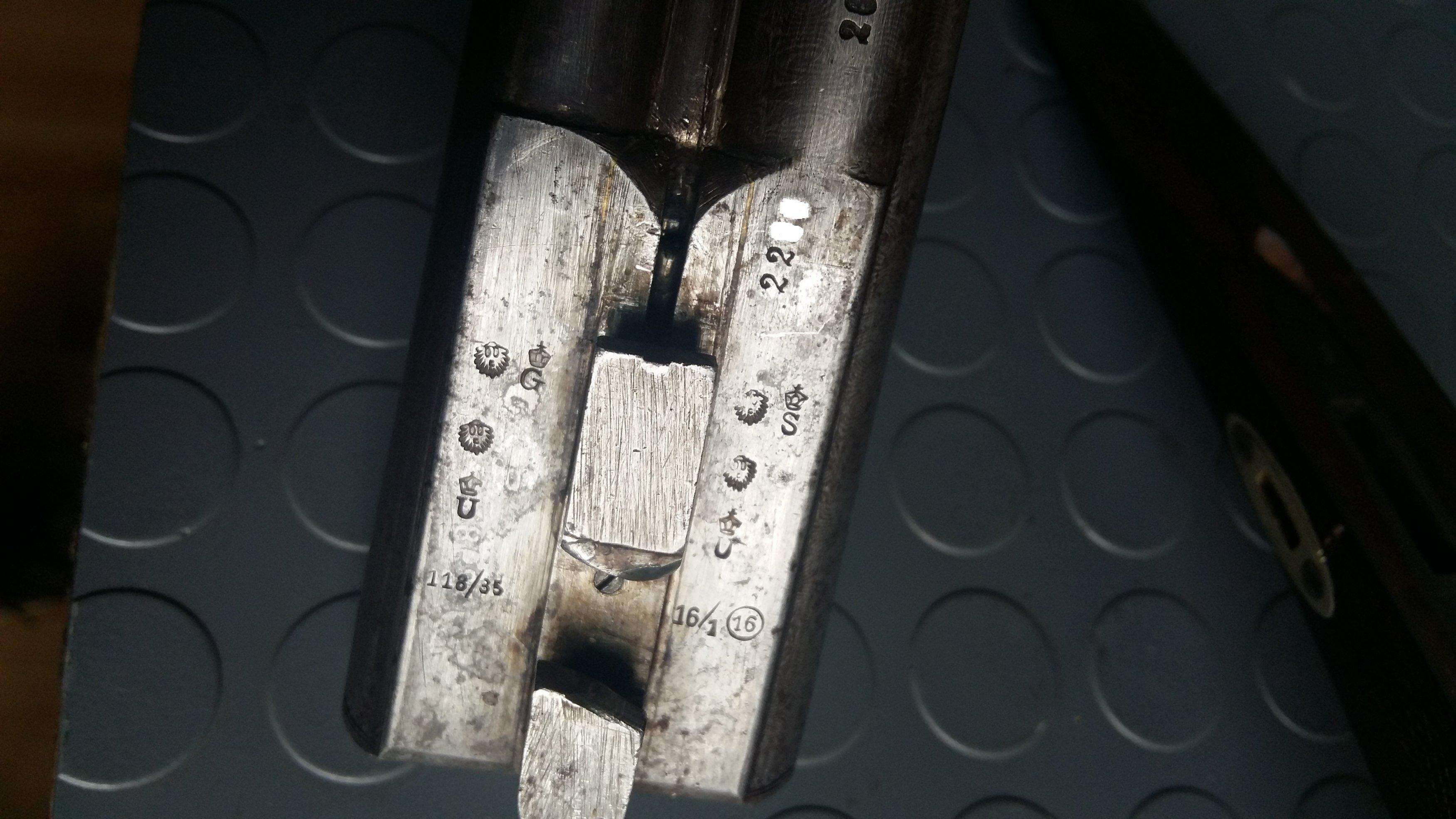 Help needed  Identifying german cape gun