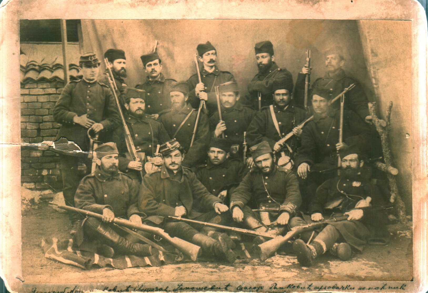Click image for larger version.  Name:serbian infantry in bulgarian war 1885.jpg Views:131 Size:317.6 KB ID:368090