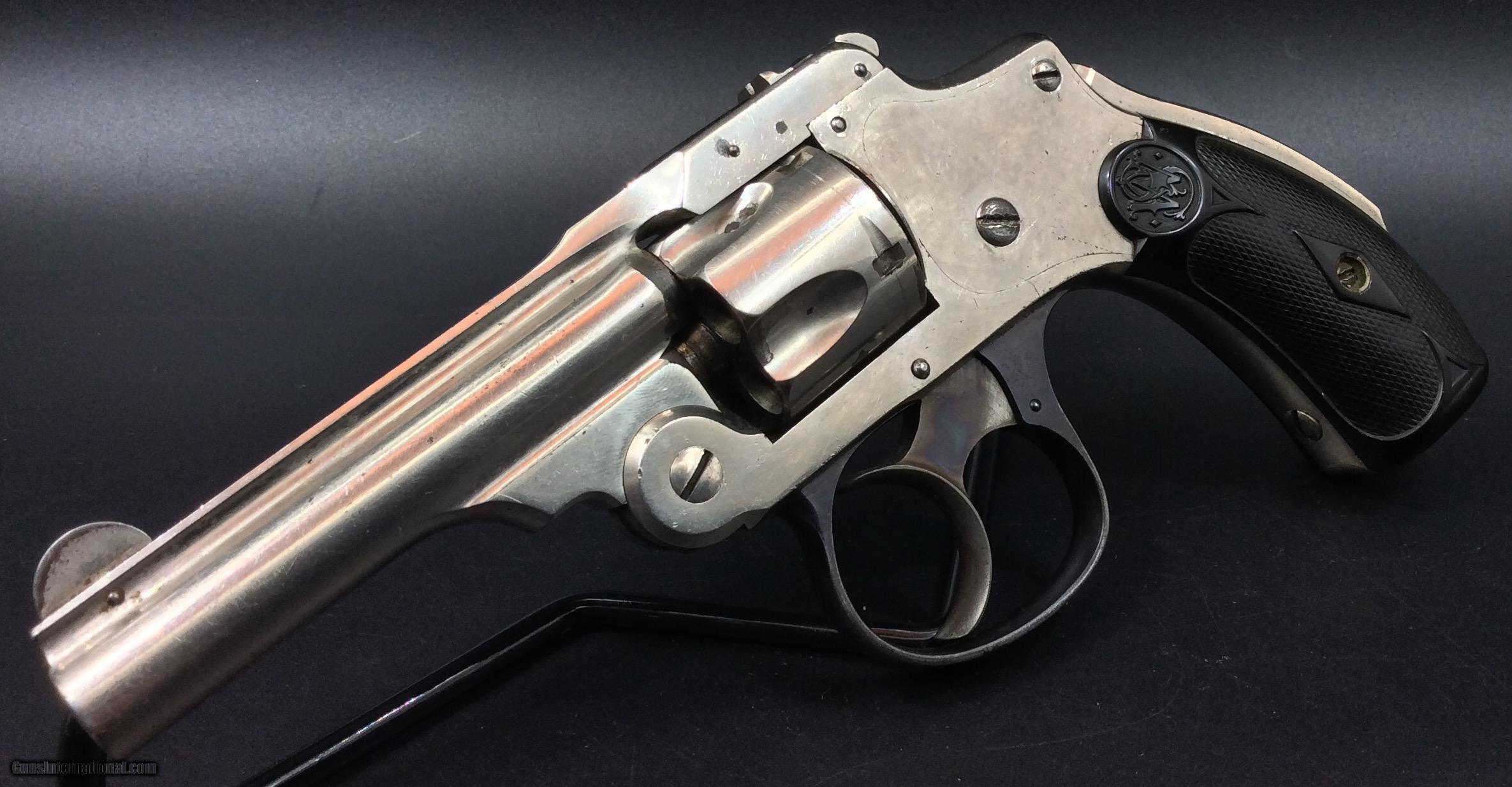 S&w 1st model safety hammerless 32s&w
