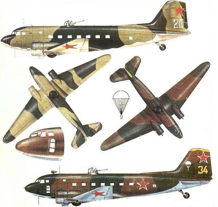 Click image for larger version.  Name:test 131 60 09 Lisunov Li-2 02 Zeichnung.jpg Views:5 Size:118.6 KB ID:384057