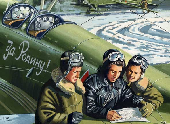 Click image for larger version.  Name:test 131 70 01 Soviet female pilots 02.jpg Views:7 Size:45.9 KB ID:383481