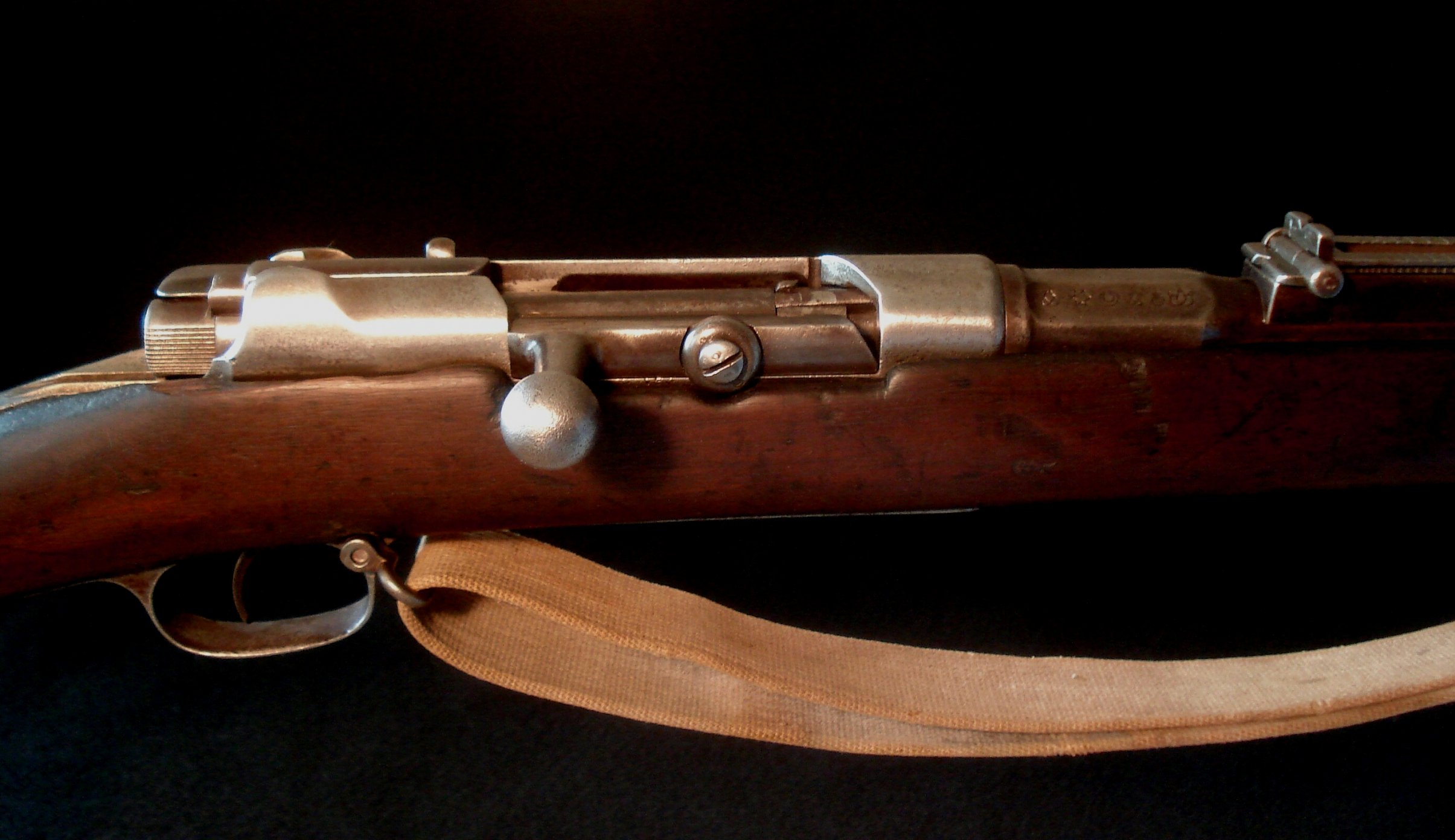 Click image for larger version.  Name:Turkish M1887 Mauser - Receiver  Action Detail II.jpg Views:9 Size:293.1 KB ID:1539641