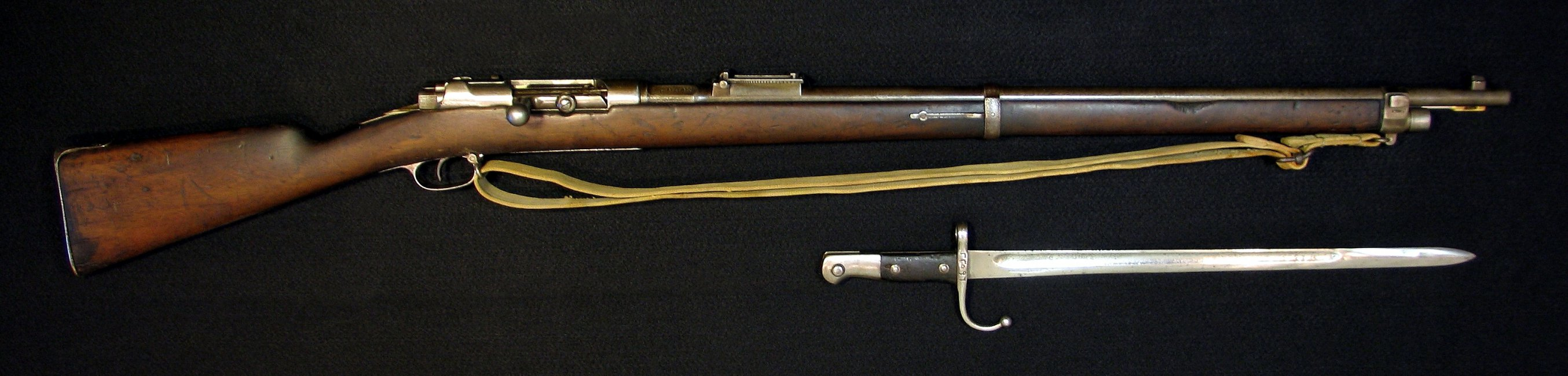 Click image for larger version.  Name:Turkish M1887 w Bayonet 008R.jpg Views:16 Size:284.6 KB ID:1539617