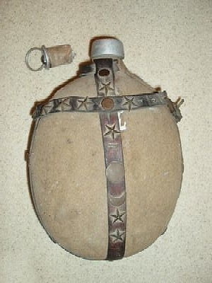Click image for larger version.  Name:Turkish WWI water bottle 1.jpg Views:17 Size:83.5 KB ID:774832