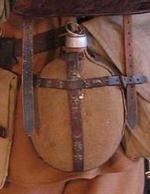 Click image for larger version.  Name:Unidentified WWI vintage Water Bottle 2.jpg Views:29 Size:83.4 KB ID:629920
