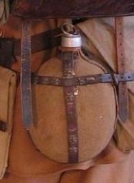 Click image for larger version.  Name:Unidentified WWI vintage Water Bottle.jpg Views:8 Size:37.7 KB ID:774830