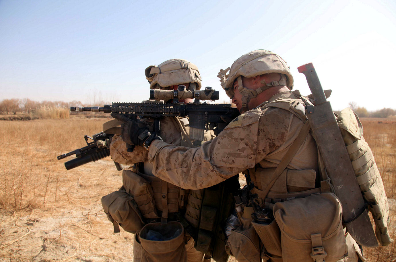 Click image for larger version.  Name:Well Used USMC MK 12.jpg Views:84 Size:209.9 KB ID:448557