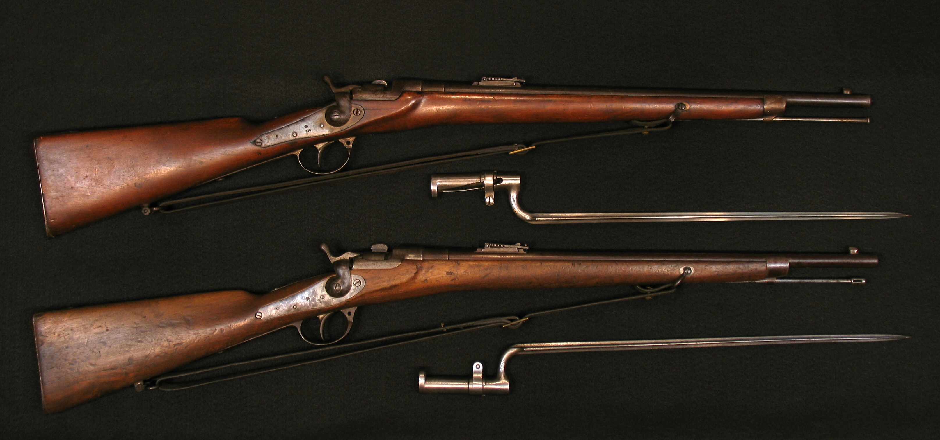 Click image for larger version.  Name:Werndl Carbines 67 E-K-Gew w Bayonets R-4a.jpg Views:1 Size:2.76 MB ID:3708385