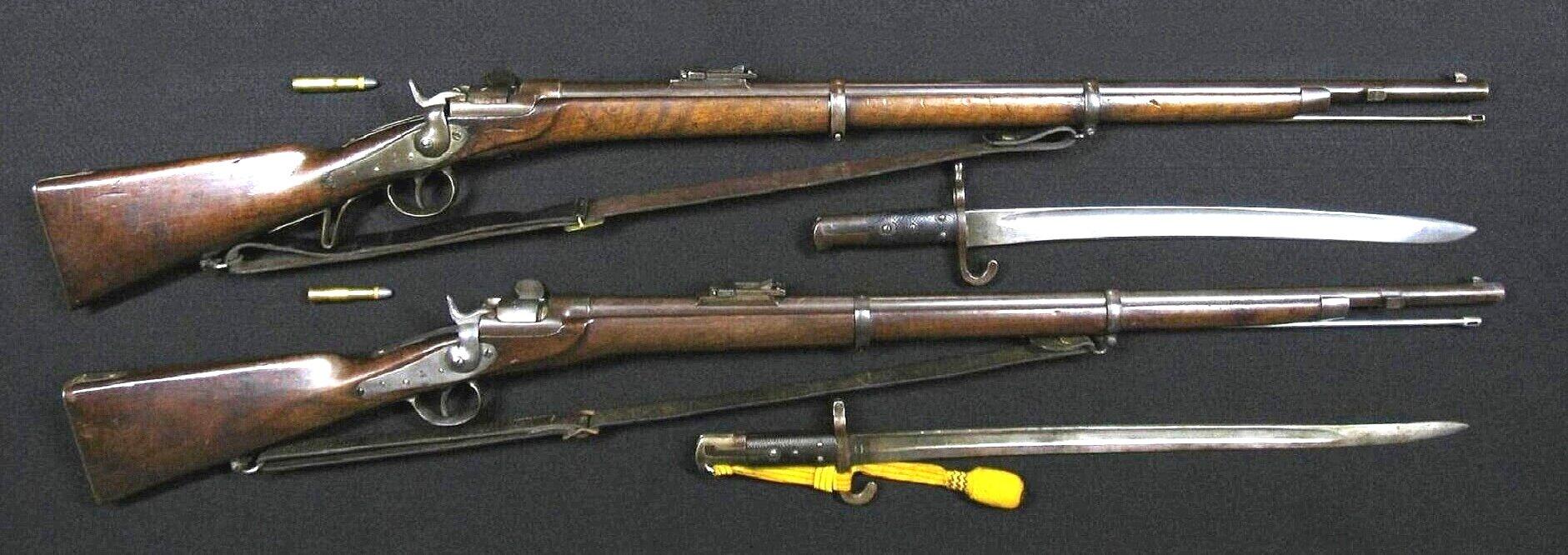 Click image for larger version.  Name:Werndl M1867-77 Rifles.jpg Views:30 Size:231.7 KB ID:1249785