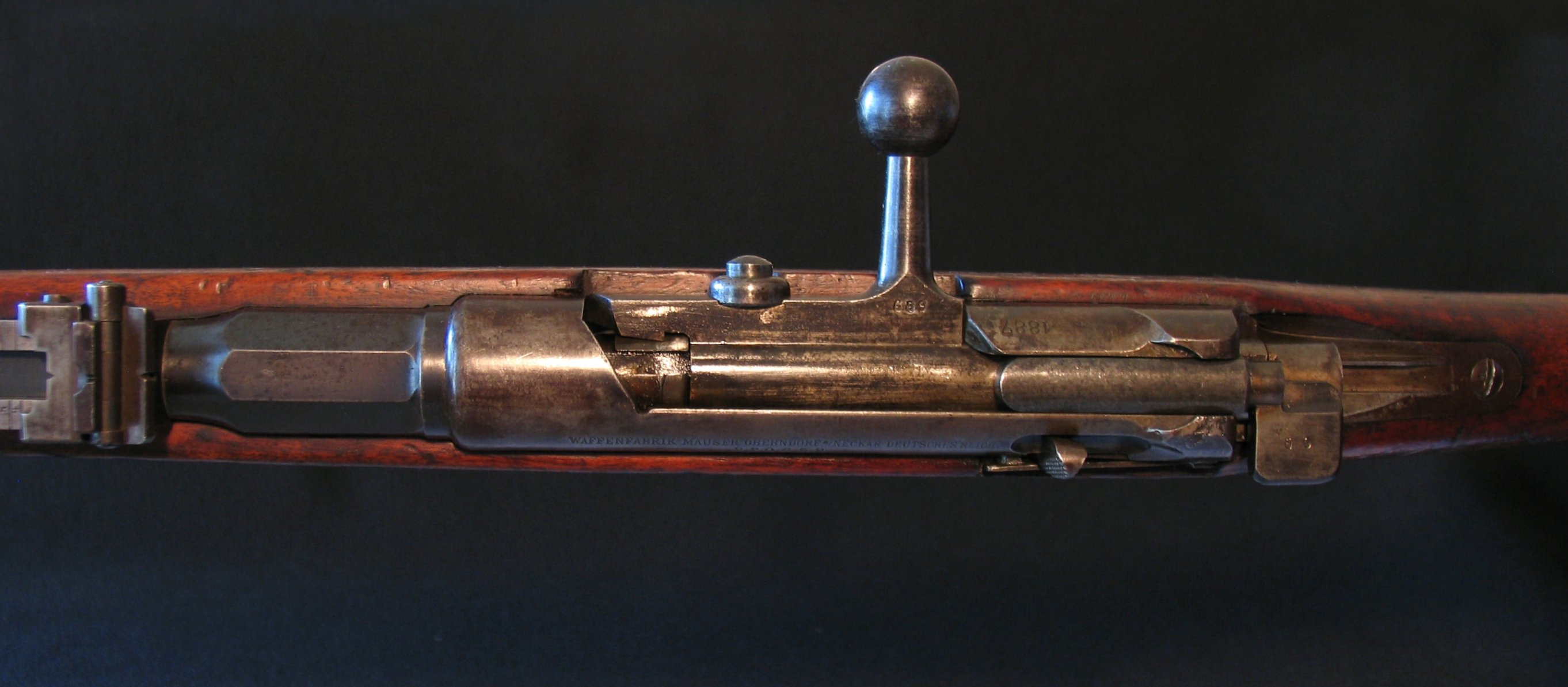 Click image for larger version.  Name:Wurttemberg M1887 Action Top View 09.jpg Views:10 Size:293.5 KB ID:1539777