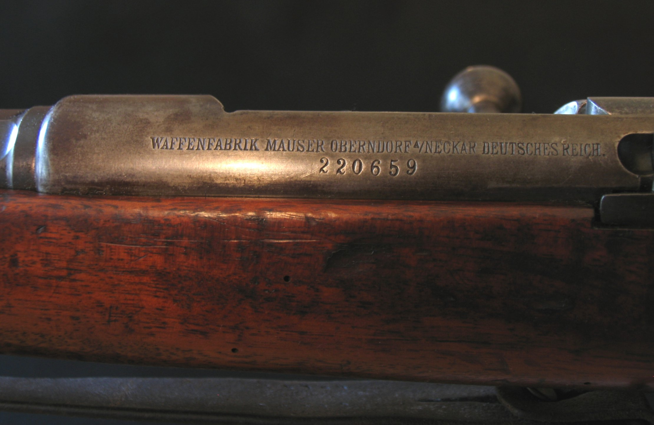 Click image for larger version.  Name:Wurttemberg M1887 Siderail Markings 01.jpg Views:12 Size:290.1 KB ID:1539761